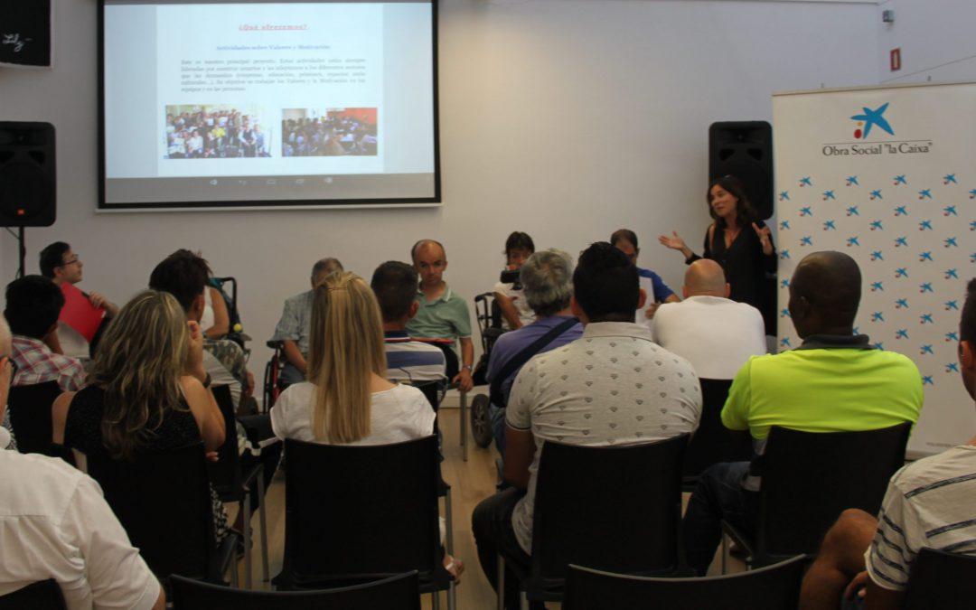 Actividad sobre valores y motivación para reclusos del programa Reincorpora de «la Caixa»