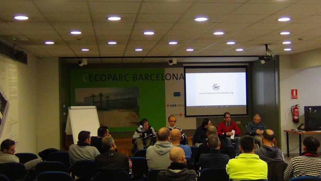ACTIVIDAD FORMATIVA SOBRE VALORES Y MOTIVACIÓN EN ECOPARC DE BARCELONA