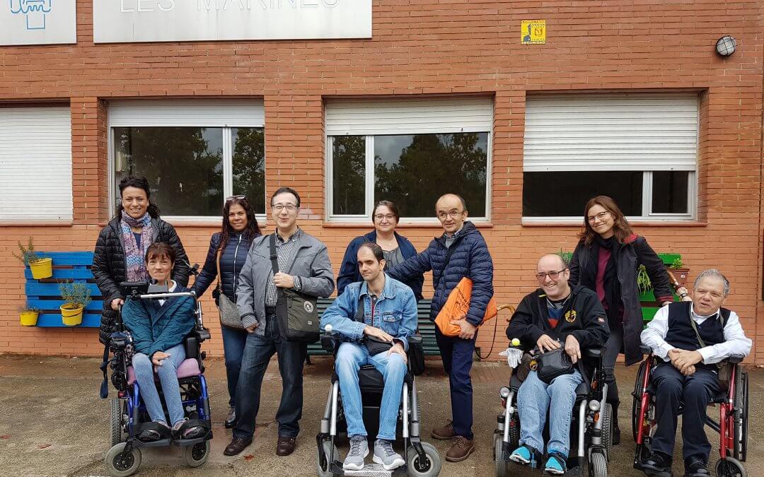 Actividades formativas en el Instituto de Les Marines de Castelldefels