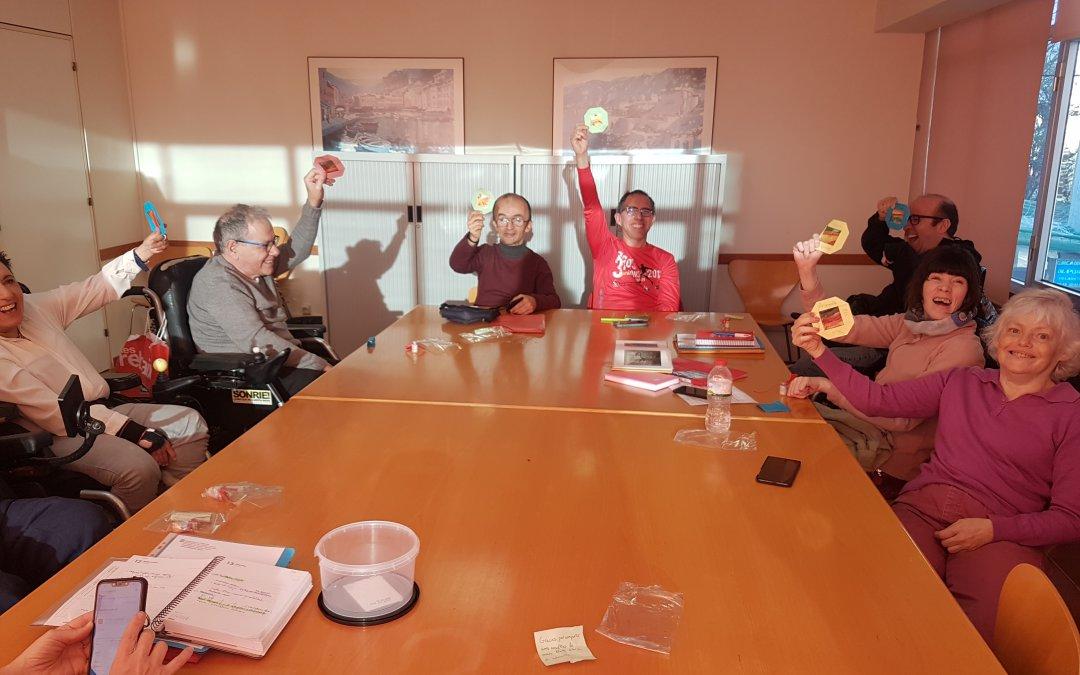 Rebem la visita d'un grup d'interns del C.P. Brians 1