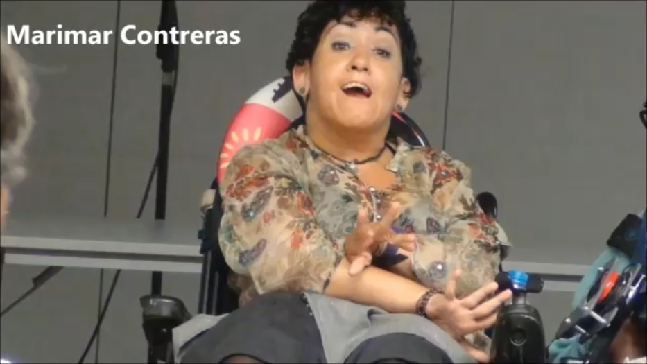 HABLANDO DE VALORES HUMANOS EN CENTRO CULTURAL DE BELLVITGE