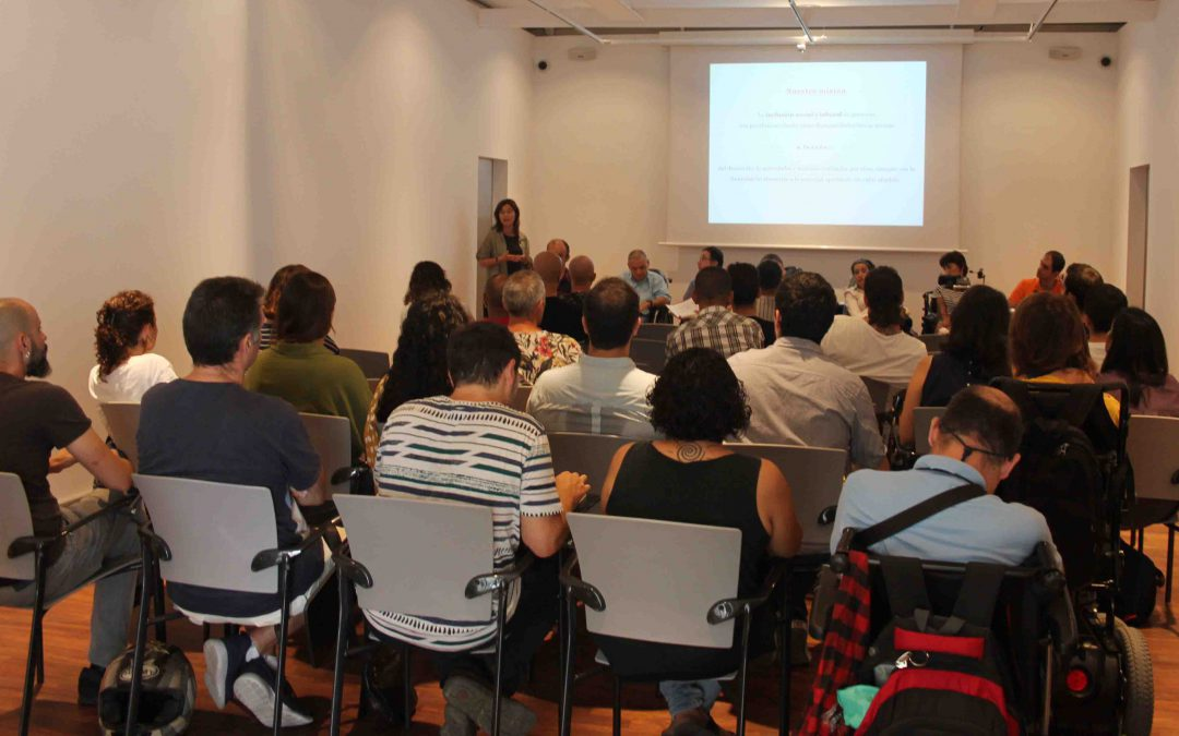 Actividad sobre valores y motivación en Reincorpora Barcelona