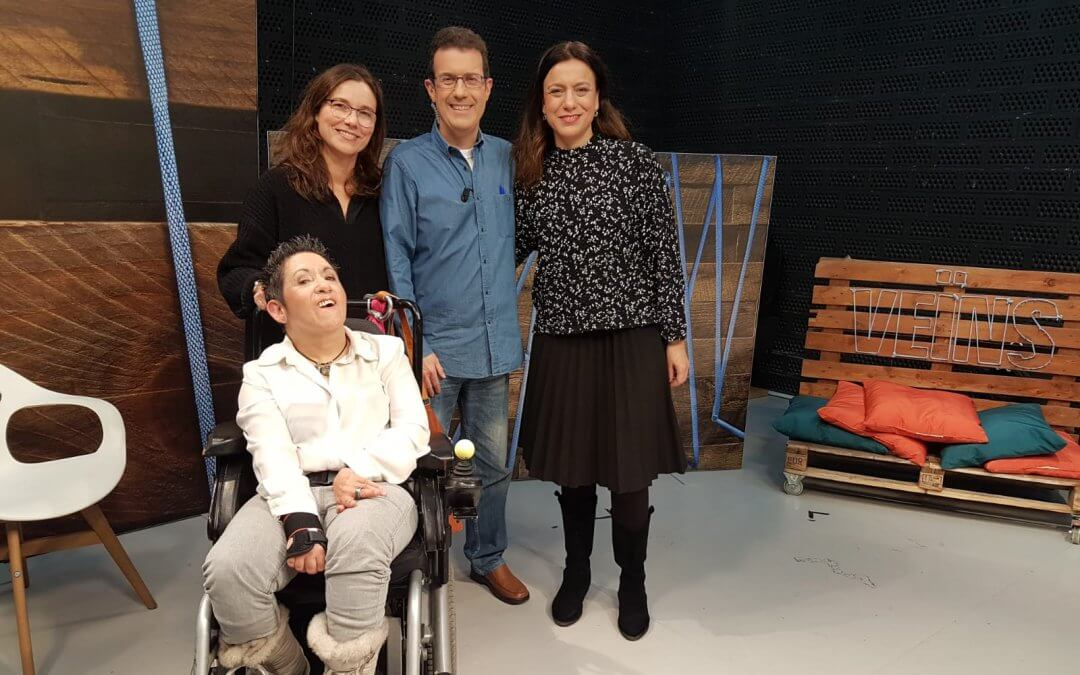 Entrevista al programa Veïns de TV L'Hospitalet